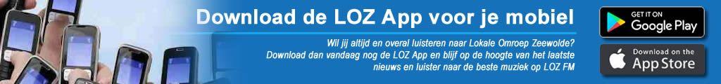 Download eenvoudig en snel de LOZ App voor je mobiel