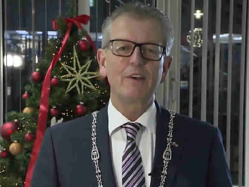Kerstboodschap Burgemeester Gorter