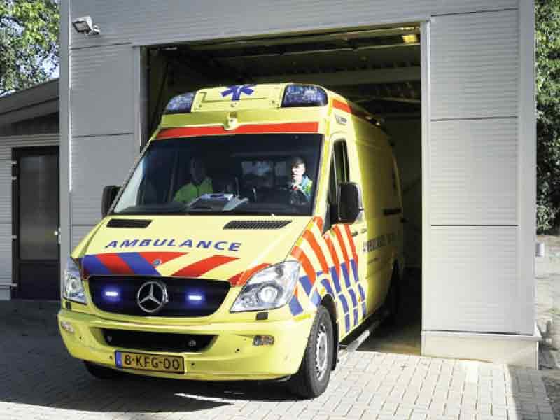 RAV verantwoordelijk voor inzet en spreiding ambulances in Zeewolde