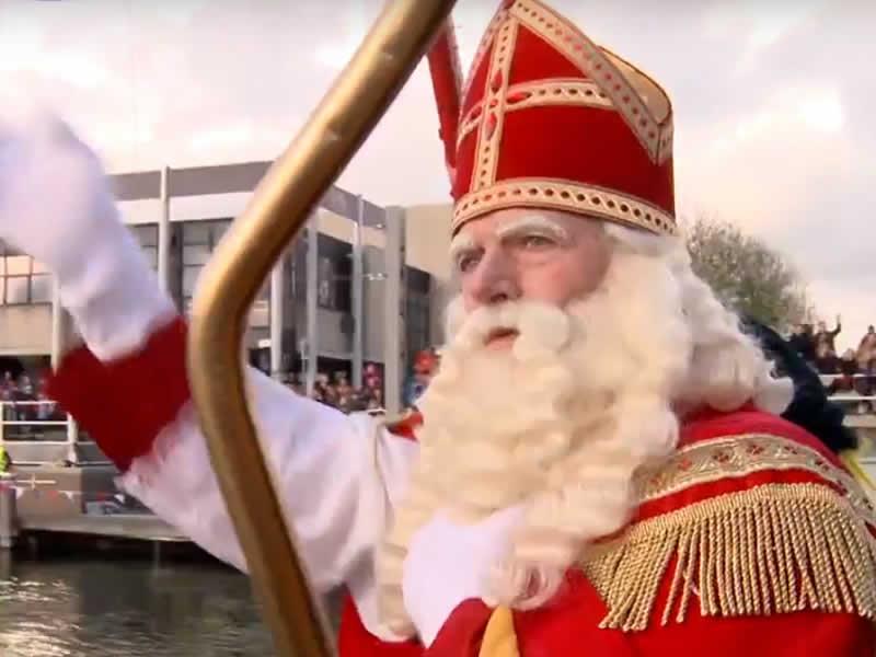 Sinterklaas aangekomen in Zeewolde