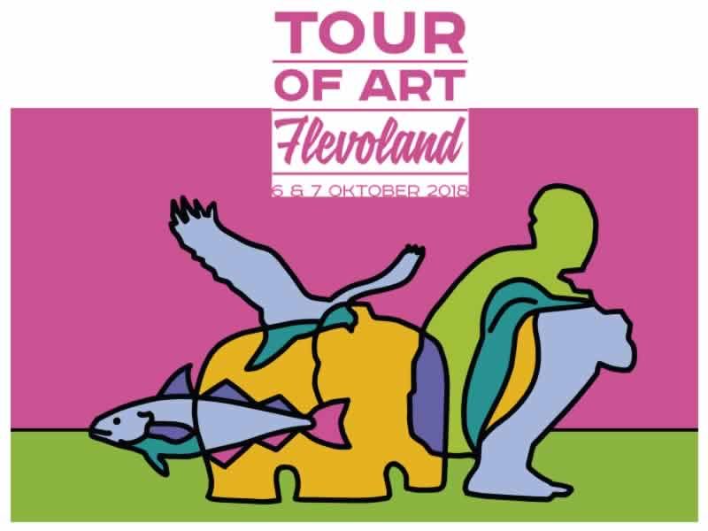 6 & & Oktober Tour of Art in Lelystad