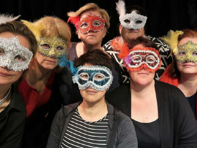 Theatergroep Puur, Maskers