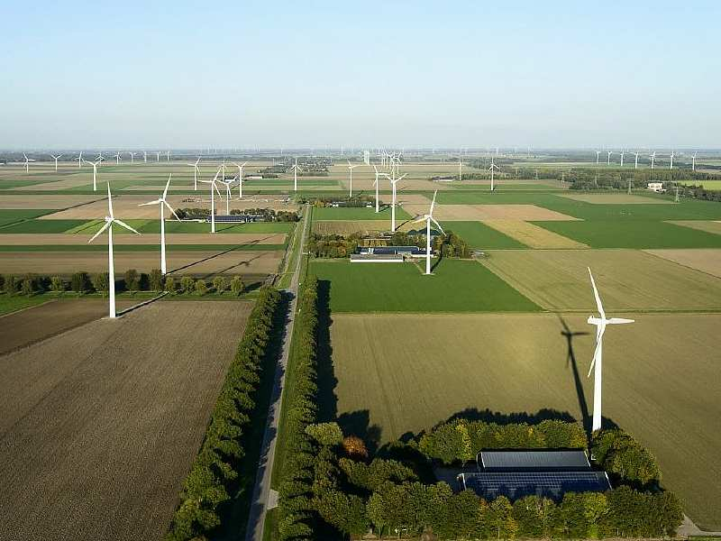 Windmolens Flevoland
