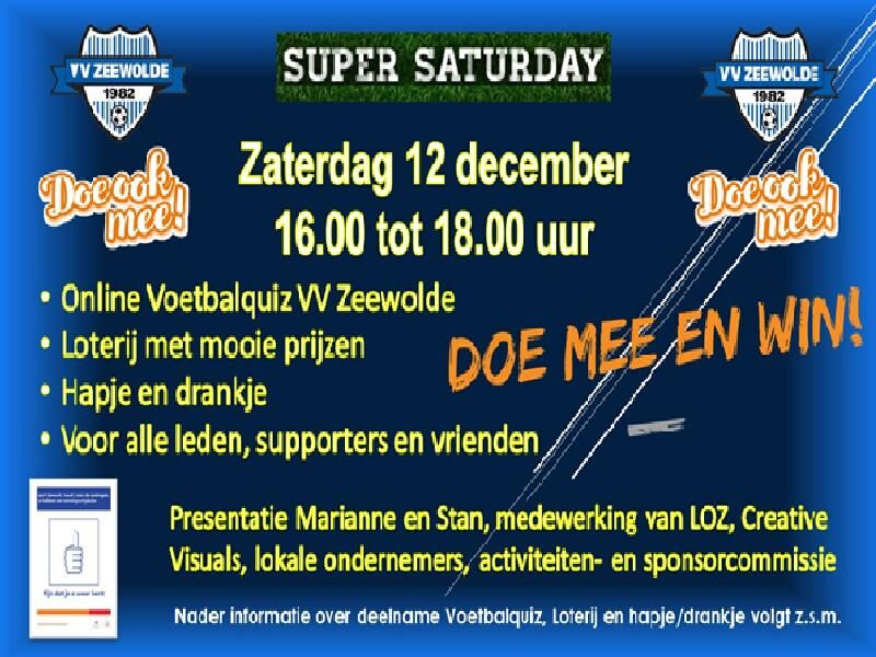 VV Zeewolde super saturday