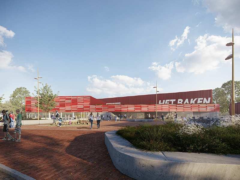Nieuwbouw sportcomplex Het Baken