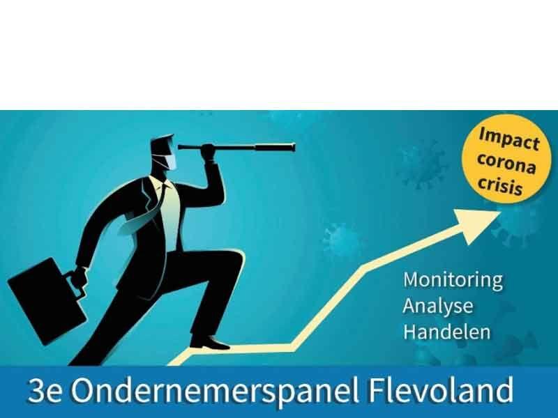3e Ondernemerspanel Flevoland peilt gevolgen corona bij bedrijfsleven