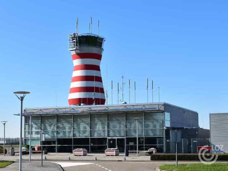 Jan Paternotte over Lelystad Airport