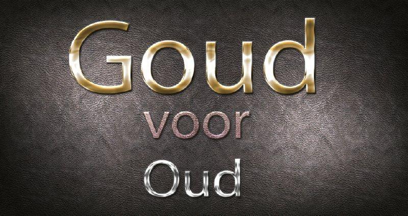 Goud voor oud