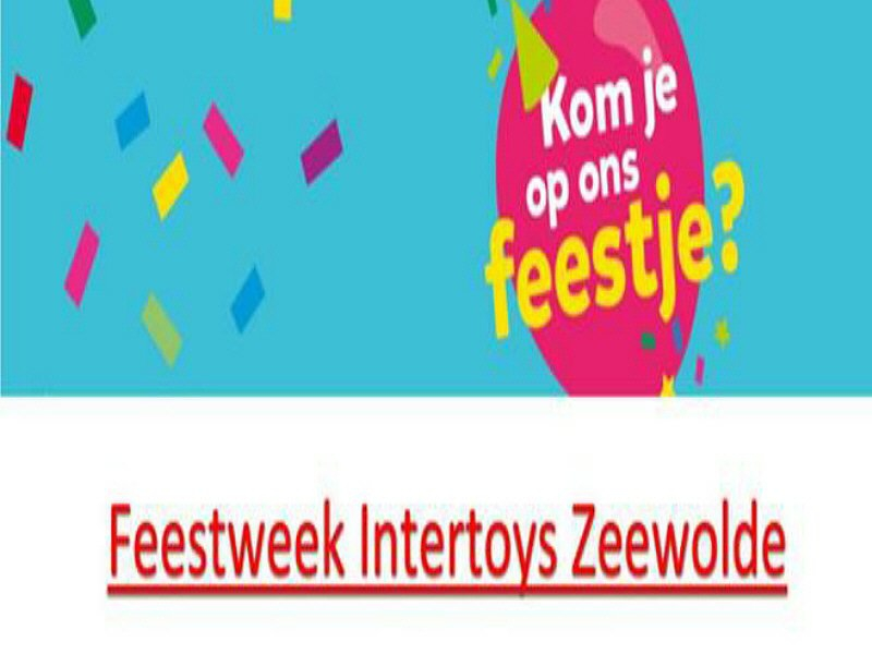 Intertoys feestweek i.v.m. doorstart
