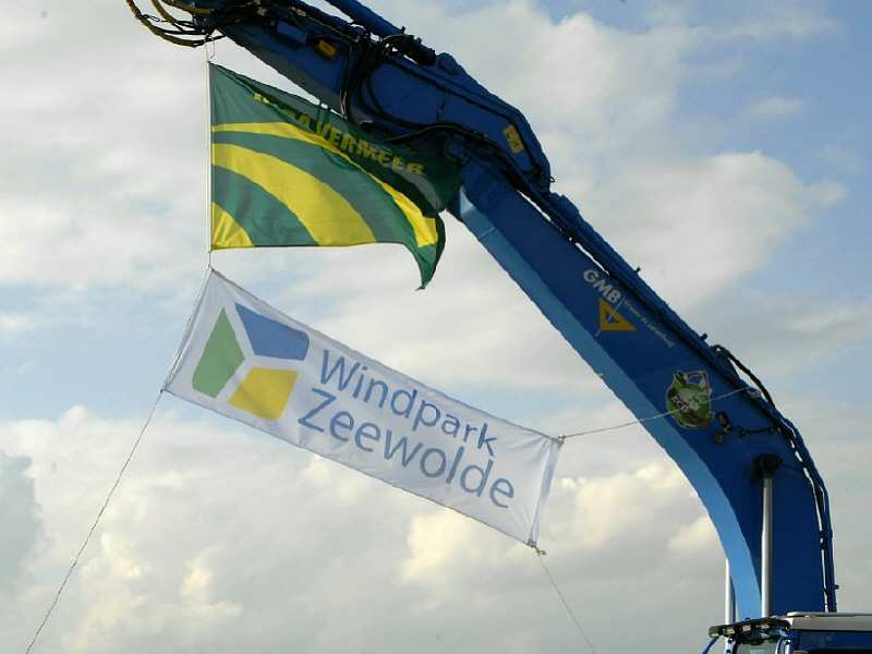 Start bouw Windpark Zeewolde