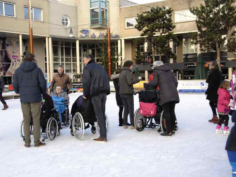 Zeewolde Winterworld doet mee aan de Rabo Club Support