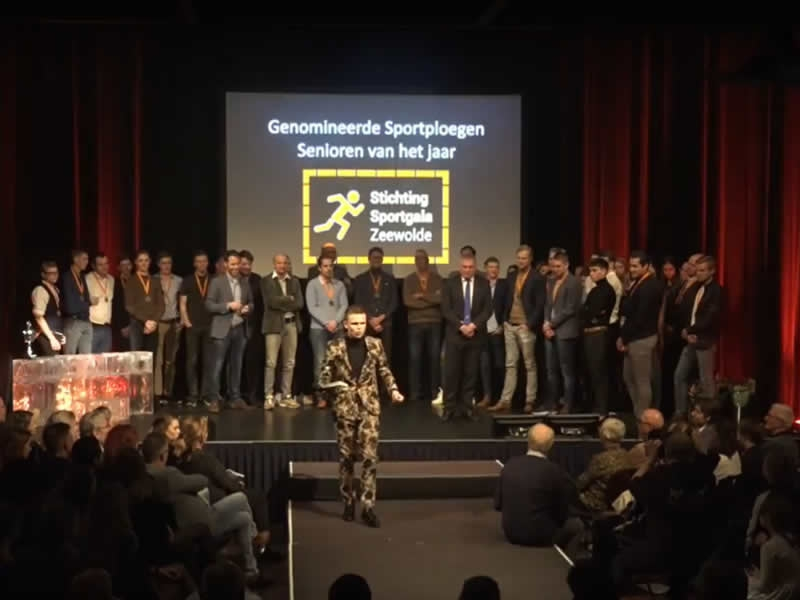Sportief Zeewolde in the Picture tijdens Sportgala