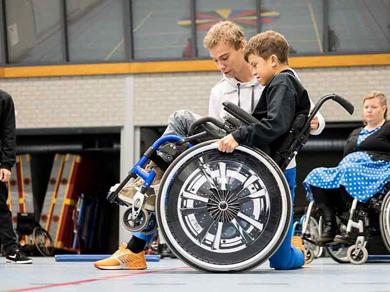 llecte Fonds Gehandicaptensport